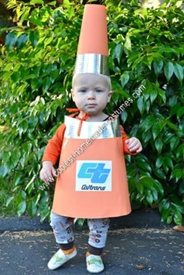 coolest homemade traffic cone toddler halloween costume 6 21426208